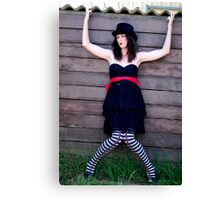 If Alice was Evil #2 Canvas Print