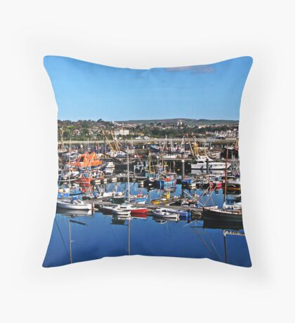 """Harbours"""" Throw Pillow"""