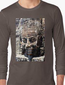 Cambodian Face of Bayon  Long Sleeve T-Shirt