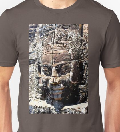 Cambodian Face of Bayon  Unisex T-Shirt