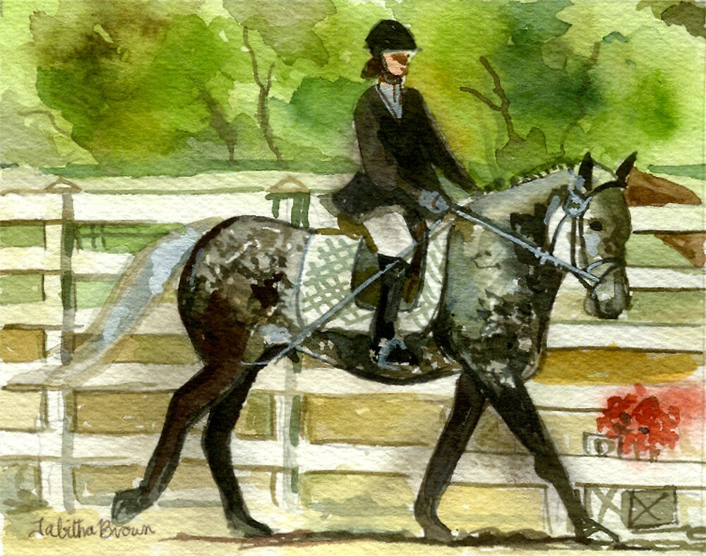 Irish Draught Horse Portrait by Oldetimemercan