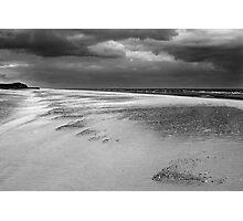 Windy Norfolk Beach Photographic Print