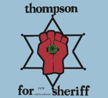 Thompson for Sheriff 2 Baby Tee