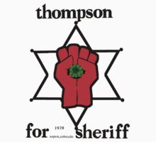 Thompson for Sheriff 2 Kids Tee