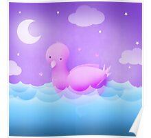 The Biggest Bird Bath Poster