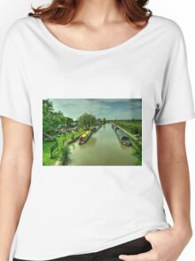 Barge Inn at Seend Cleeve  Women's Relaxed Fit T-Shirt
