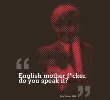 English motherf*cker?