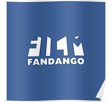 Film Fandango Logo - WHITE Poster