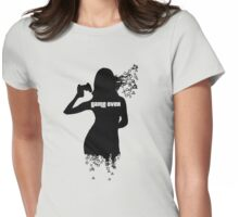 Rage Quit Girl Womens Fitted T-Shirt