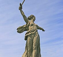 "Monument ""Mother-Russia Calls For"", Volgograd by Sofia Solomennikova"