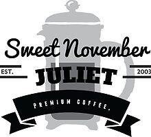 November Juliet Coffee by Derpdesigns