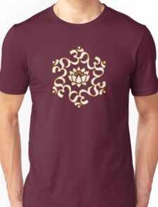 OM LOTUS - Buddhism - Symbol of spiritual strength  Unisex T-Shirt