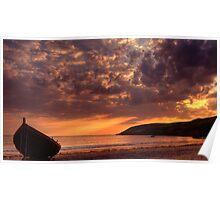Welsh Sunset Poster