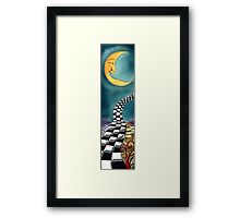 Psychedelic-Skateboard Deck Graphic Framed Print