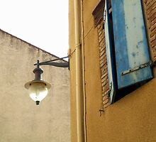 Lamp Post of Collioure by HELUA