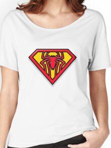 Super Spiderman Logo Women's Relaxed Fit T-Shirt