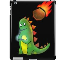 The reason why dinosaurs became extinct iPad Case/Skin