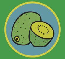KIWIFRUIT half fruit melonette kiwi by SofiaYoushi