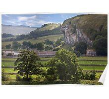 Kilnsey's Limestone Crag Poster