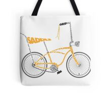 Anatomy of a Dragster Bike Tote Bag