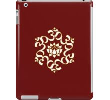 OM LOTUS - Buddhism - Symbol of spiritual strength  iPad Case/Skin