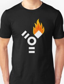 Firewire Logo, on Fire T-Shirt