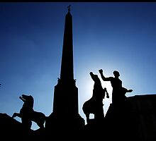 Roman Silhouette by Charlie Reds