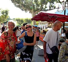 Marketday in Collioure by HELUA