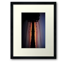 Dusk - A Different Perspective Framed Print