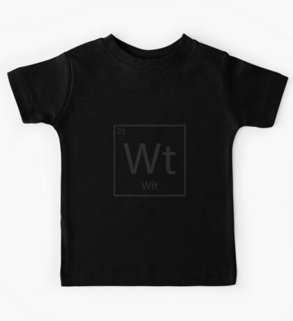 The Element of Wit Kids Tee