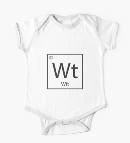 The Element of Wit One Piece - Short Sleeve