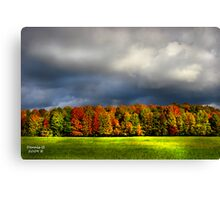 """Clouds of Fall""  #4 Canvas Print"
