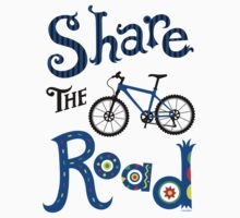 Share the Road    Kids Tee