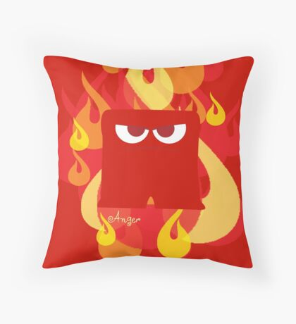 Inside Out - Anger Throw Pillow