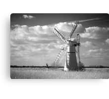 Infra red Thurne Windmill! Canvas Print