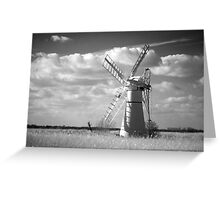 Infra red Thurne Windmill! Greeting Card