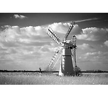 Infra red Thurne Windmill! Photographic Print