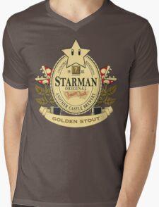 Starman Original:  Golden Stout Mens V-Neck T-Shirt