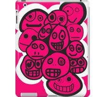 smiley's three iPad Case/Skin
