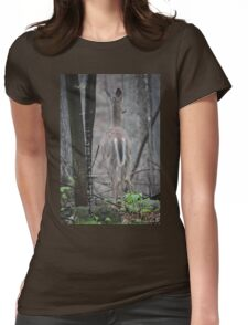 Deer Looks in Ravine T-Shirt