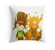 NaruHina Chibi Throw Pillow