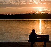 Sunset at Deerskin Lake by JimGuy
