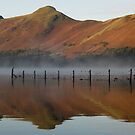 Cat Bells in Derwent Water by Jon Tait