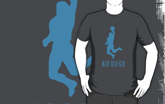 Air Diego Cyan by David Cumming
