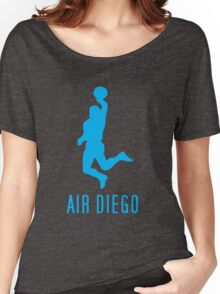 Air Diego Cyan Women's Relaxed Fit T-Shirt