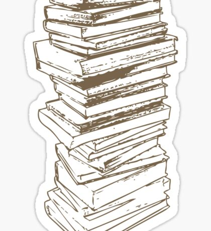 Stack of Knowledge Sticker
