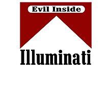 Illuminati - Evil Inside Photographic Print