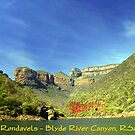 Swadini Dam & The Three Rondavels - South Africa by Bev Pascoe