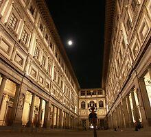 Uffizi Moon by Britton Johnson