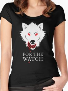 For The Watch Women's Fitted Scoop T-Shirt